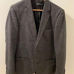 Antony Morato Wool Blazer Grey